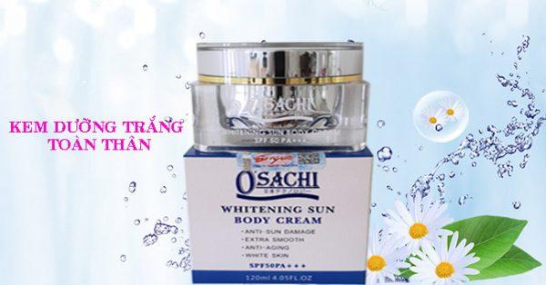 Kem Osachi dưỡng trắng toàn thân chống nắng