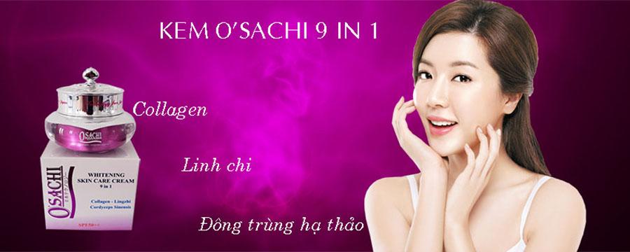 Kem Osachi 9 in 1 dưỡng trắng da