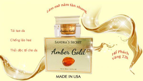 kem amber gold- sandra secret
