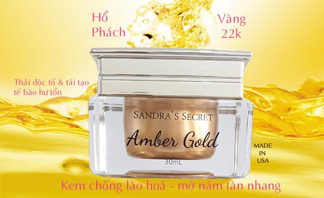 kem amber gold-sandra secret
